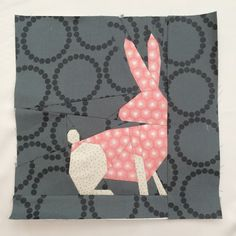 Foundation Paper Pieced Bunny