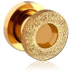 Piercing Shop, Body Piercing, Piercings, Flesh Tunnel, Shops, Tunnels And Plugs, Body Jewellery, Frost, Gold