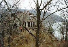 The Residence, looking southeast.   Breakneck Ridge looms beyond.