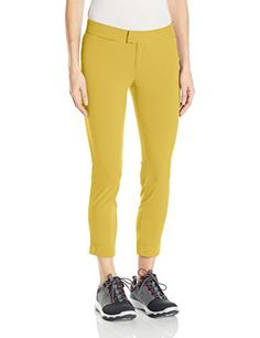 Product review for Columbia Sportswear Women's Armadale Ankle Pants.  - Slim-fitting, shape holding, and sublimely stretchy, this skinny-leg ankle pant features a water-repellent treatment to keep you dry in the face of rain storms and boat spray and built-in UPF 50 sun protection to Shield you from harmful UV rays during long hours in the...