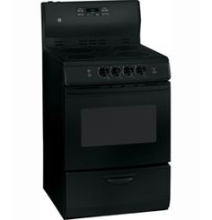 """JCAP760BMBB by General Electric Canada in Winnipeg, MB - GE 24"""" Free Standing Electric Self Clean Range Shop JS Furniture Gallery for all your appliance needs.  1725 Ellice Avnue, Winnipeg, http://furnitureandmore.ca"""