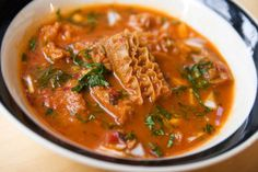 Menudo soup is made with tripe, or beef stomach, one of the easy-to-forget organ meats.