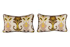 Joker Ikat Pillows, Pair on OneKingsLane.com