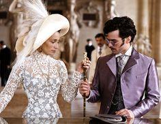 """Kristin Scott Thomas & Romain Duris - """"Arsene Lupin"""" (2004) - Costume designer : Pierre-Jean Larroque"""