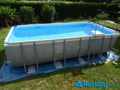 decks for intex pools Around an Intex Pool • Above