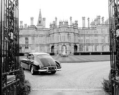 Photo by Paul Costello, David's new car at Burghley house