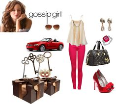 """gossip girl"" by ellemoraes on Polyvore"