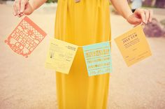 Fun Desert Wedding Invites by Southern Fried Paper