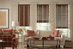 Fidelis® Hybrid Composite Wood Blinds with Decorative Tapes | Lafayette Interior Fashions
