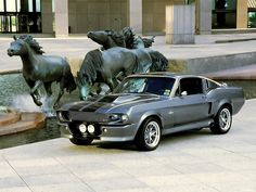 1969 Ford Mustang Shelby GT500 Free Download Wallpaper