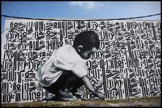 EL MAC x RETNA #elmac #retna #streetart. #retna http://www.widewalls.ch/artist/retna/