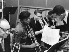 Melba Liston and Quincy Jones - 1961 by G. Marshall Wilson