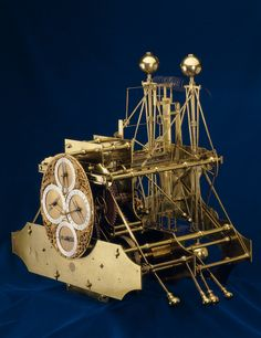Harrison's 1st timekeeper H1. The first clock specifically designed to keep perfect time overseas and solve the longitude problem of the era. Its successful and praise-filled debut was a small voyage to Lisbon in 1736, but further improvements were needed for Harrison's satisfaction. The H1 wasn't put to the transatlantic voyage demanded by the Board of Longitude, and Harrison developed 3 further valuable designs.