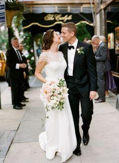 black-tie-manhattan-wedding-kiss-bouquet-bride-groom