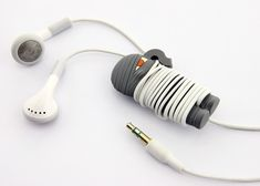 Mummy Wrap, A Cute Way to Keep Headphone Cords From Tangling