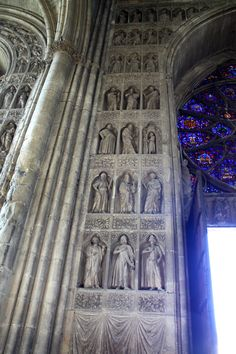 Cathedral in Reims, France Renaissance Architecture, Church Architecture, Architecture Design, Reims Cathedral, Gothic Cathedral, Hagia Sophia Istanbul, Catholic Churches, Amazing Houses, Paris City