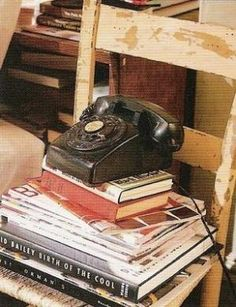 old telephone by Cenika