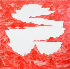 series 'Between Red', artist Sea Hyun Lee