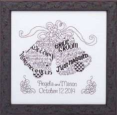 LET'S MARRY  Imaginating Cross Stitch Pattern by TheAngelsNook