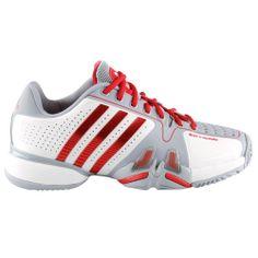 adidas Tennis Shoes Novak Djokovic adipower Barricade Men white/grey