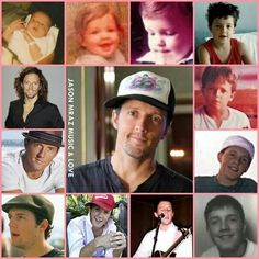 Jason Mraz thru the years