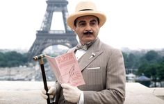 Agatha Christie's Poirot. Hercule Poirot is my favorite detective!