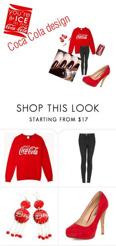 """""""Coca~Cola"""" by xoutfiter ❤ liked on Polyvore featuring Forever 21, Topshop and Dorothy Perkins"""