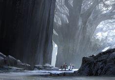 giant trees, arnaud pheu on ArtStation at https://www.artstation.com/artwork/giant-trees