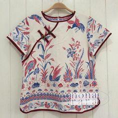 B090613 - IDR295.000 Bustline : 94cm Fabric: Batik Encim Pekalongan