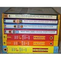 E.D. Hirsch books  What Your ___ Grader Needs to Know?  The beginnings of the Common Core.