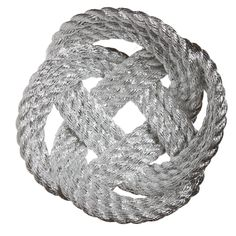 Bowl made of rope