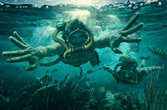 Dave Hill Conceptual Photography #under #water