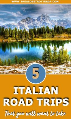 5 Spectacular Italy Road Trips You Need To Steal - The Globetrotter GP Italy Travel Tips, Top Travel Destinations, Sicily Travel, Europe Holidays, Italy Holidays, Italy Trip, Italy Vacation, Road Trip Hacks, Road Trips