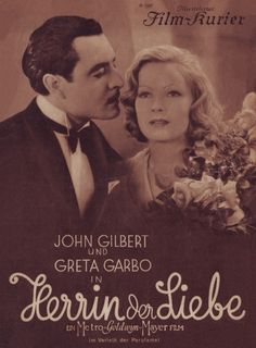 John Gilbert and Greta Garbo on Film-kurier