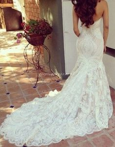 fit and flare wedding dress - Google Search