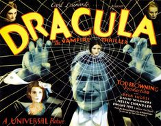 Old Movie Posters, Classic Movie Posters, Vintage Posters, Classic Movies, Dracula, Old Movies, Vintage Movies, Indie Movies, Helen Chandler