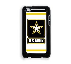 ARMY - Protective Designer Snap-On Case - Fits Apple iPod Touch 4