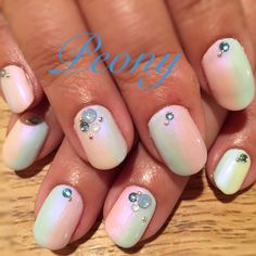 gel nail design*summer nail!