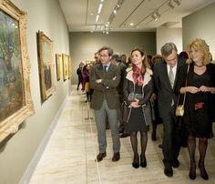 La baronesa Thyssen inaugura una nueva exposición en su museo #famosas