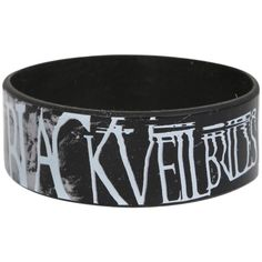 Black Veil Brides Faces Rubber Bracelet | Hot Topic ($7) ❤ liked on Polyvore featuring jewelry, bracelets, accessories, black veil brides, rubber bracelets, rubber jewelry, bride jewelry, rubber bangles, bridal bangles and bridal jewelry