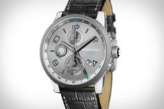 Montblanc TimeWalker ChronoVoyager UTC. Whew - talk about a mouthful, but sure is cool.