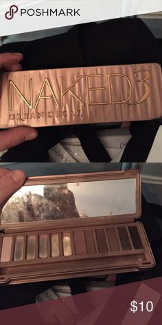 Naked 3 with limited colors but cheap Just need to sell Urban Decay Makeup Eyeshadow