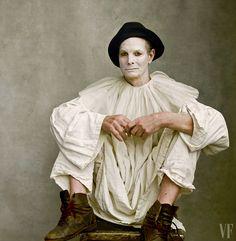 See Bill Irwin, American Theater's Clown Prince, Shot by Annie Leibovitz — Vanity Fair - Jule Popule Clown College, Annie Leibovitz Photography, Pierrot Clown, Tim Walker, National Portrait Gallery, Ballet, Studio Portraits, Photography Tutorials, Vanity Fair