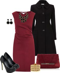 """Red Dress"" by averbeek on Polyvore"