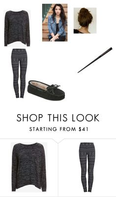 """""""Annabelle Potter"""" by oomfoveryou ❤ liked on Polyvore featuring rag & bone/JEAN, Pieces and Minnetonka"""