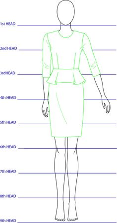 Download free back view fashion figure template for your for Fashion designing templates free download