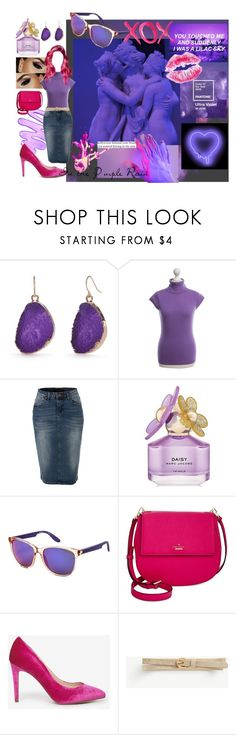 """""""Pantone Purple Rain"""" by madelineharr ❤ liked on Polyvore featuring INC International Concepts, New Directions, Strenesse, LE3NO, Marc Jacobs, Carrera, Kate Spade, Dorothy Perkins, Ann Taylor and GALA"""