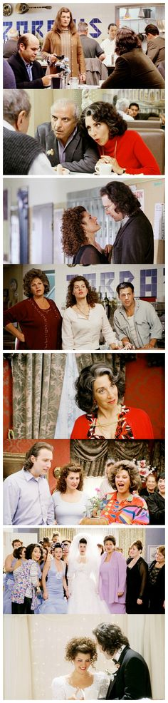 My Big Fat Greek Wedding - if you change the Greek-ness to Dominican-ness, boom. My family.