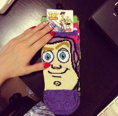 Disney Buzz Lightyear Socks