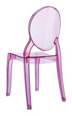 [Siesta Exclusive | Contract Collection | BABY ELIZABETH Chair] Stacking children chair Baby Elizabeth for indoor and outdoor use in clear polycarbonate. Scratch resistant, UV – resistant.